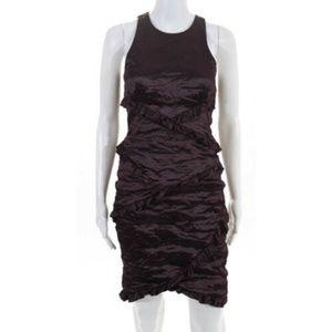 NWT Nicole Miller Purple Sleeveless Dress Size 4